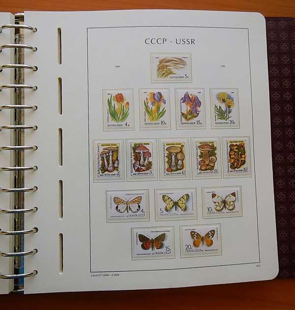 Альбом для почтовых марок настольная медаль вднх ссср