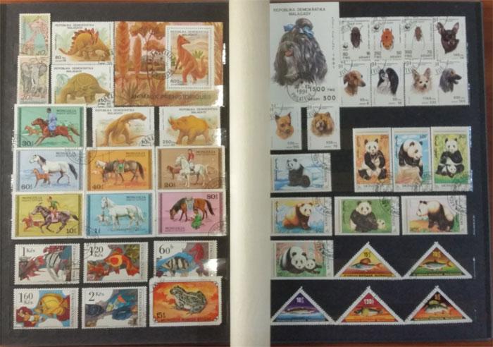 Подарочный альбом марок всего мира - тема Фауна - цена по акции!