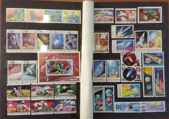 Подарочный альбом марок всего мира - тема Космос - цена по акции!